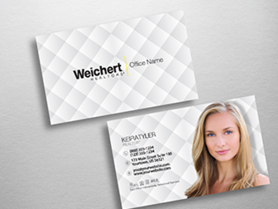 Weichert business cards free shipping design templates weichert realtors business card wch201 wajeb Image collections