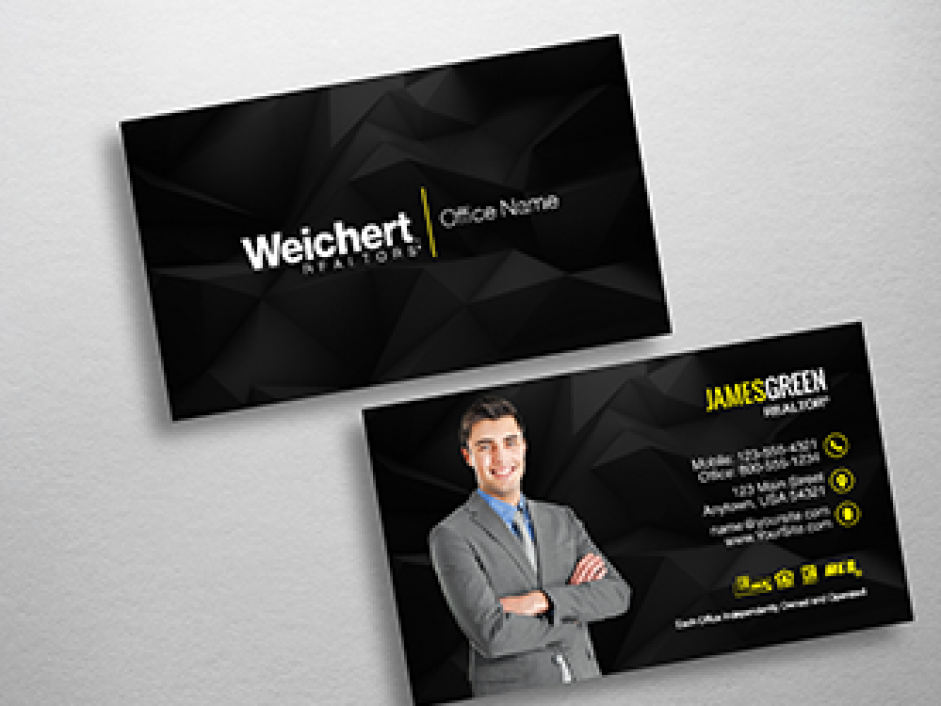 Weichert Business Cards | Free Shipping | Design Templates |