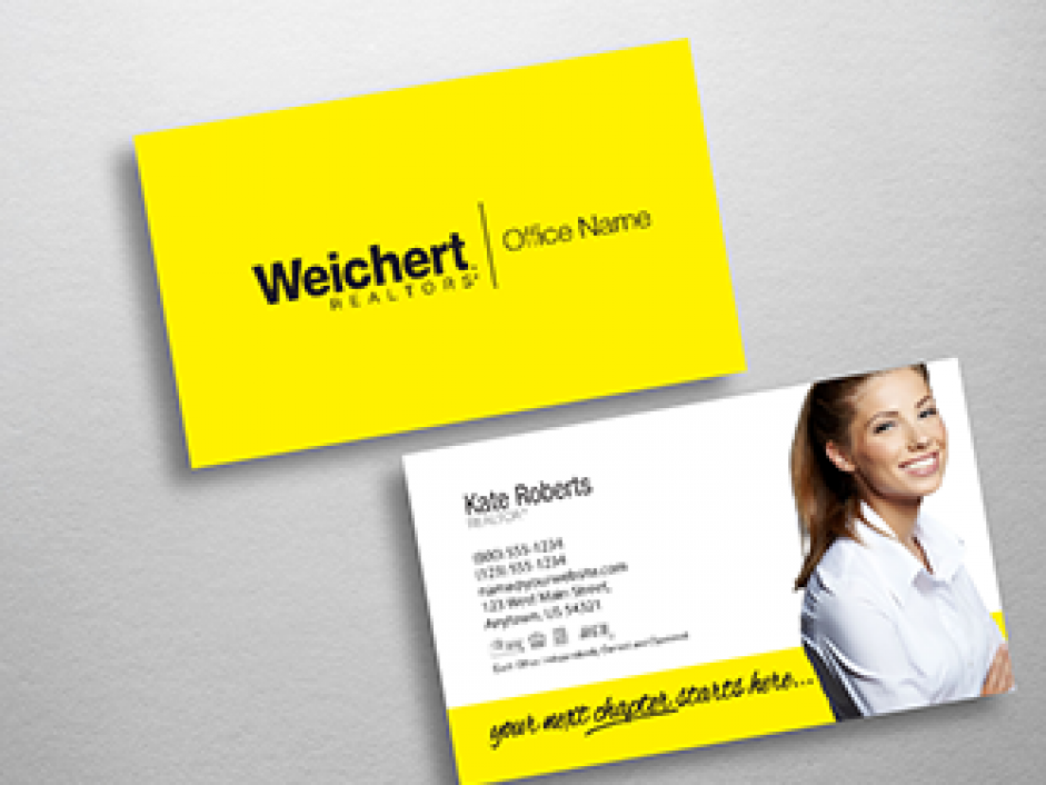 Weichert business cards free shipping design templates weichert realtors business card wch203 wajeb Images