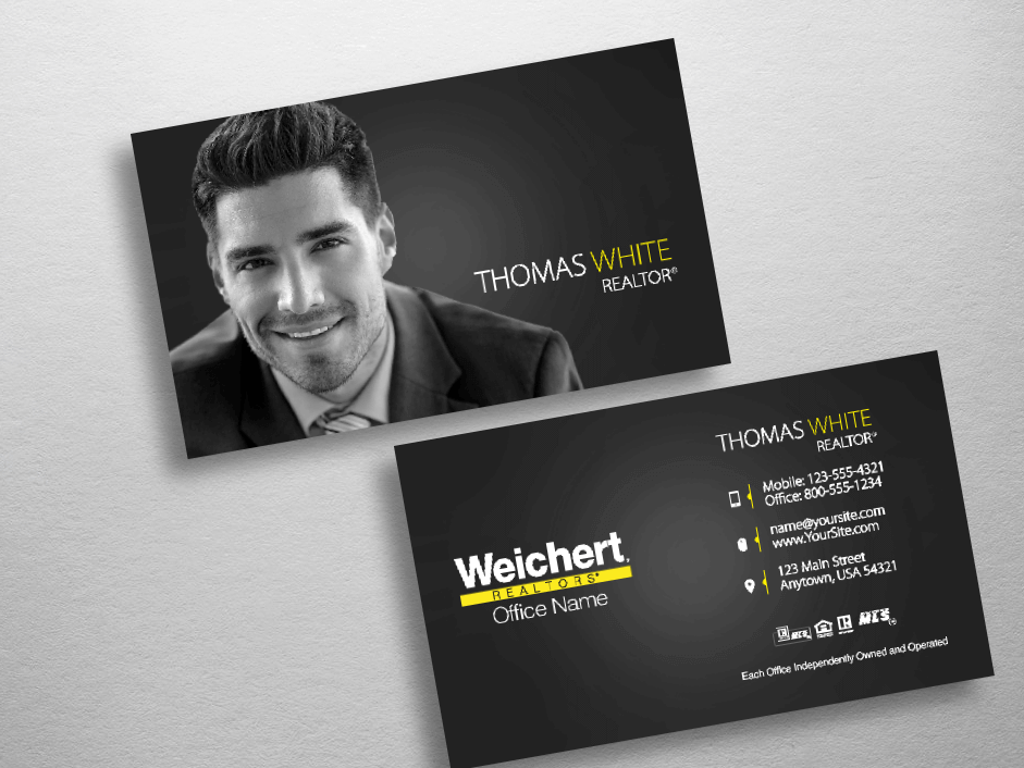 Weichert Business Cards | Free Shipping | Design Templates |