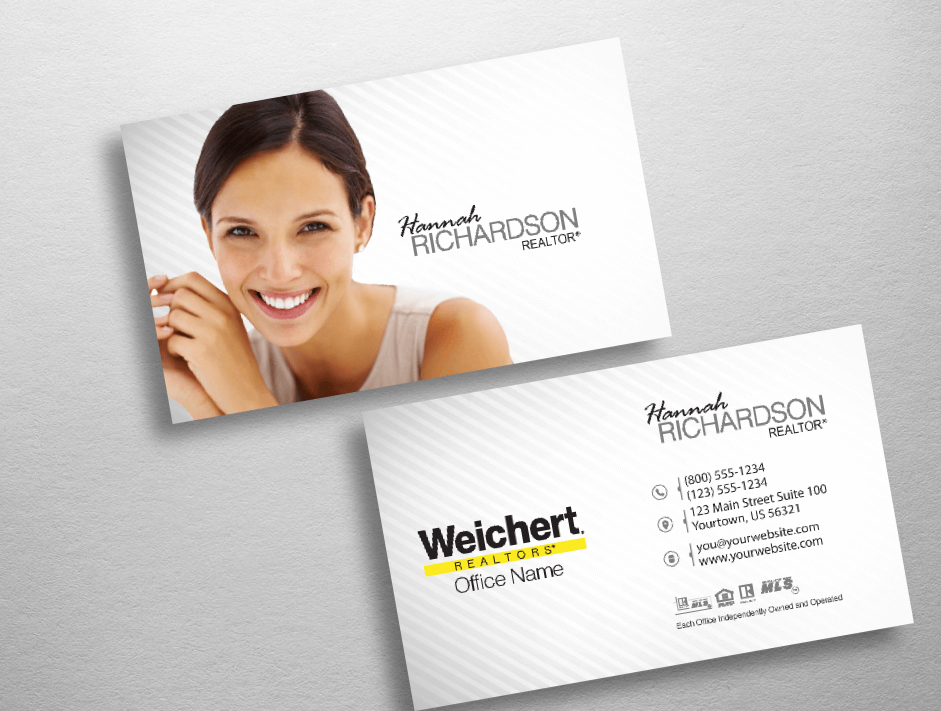 Weichert Realtors Business Card Style WCH211