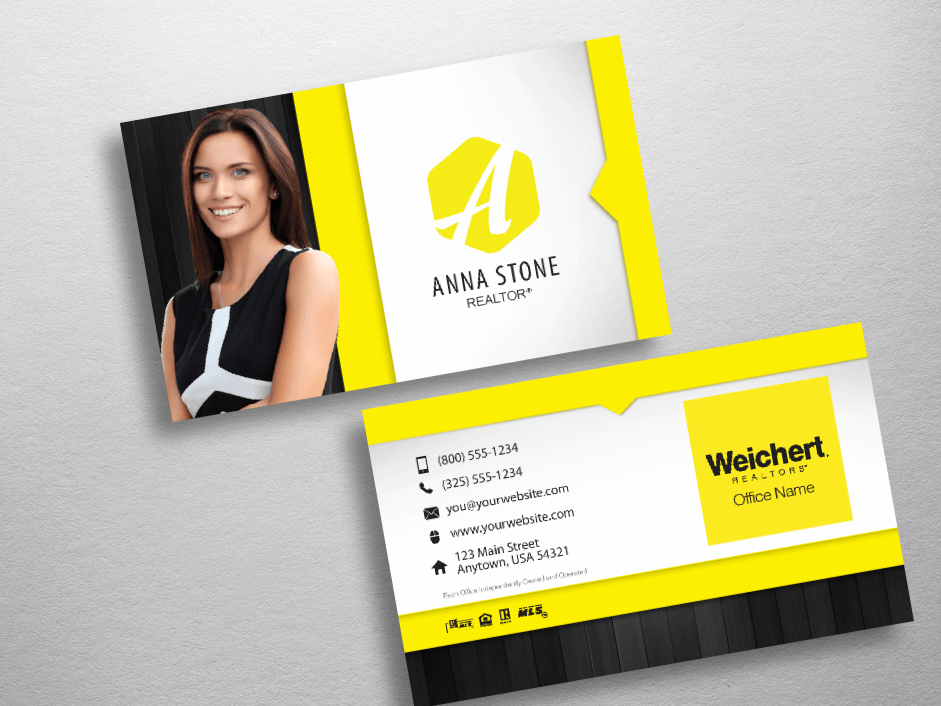 Weichert Business Cards Free Shipping