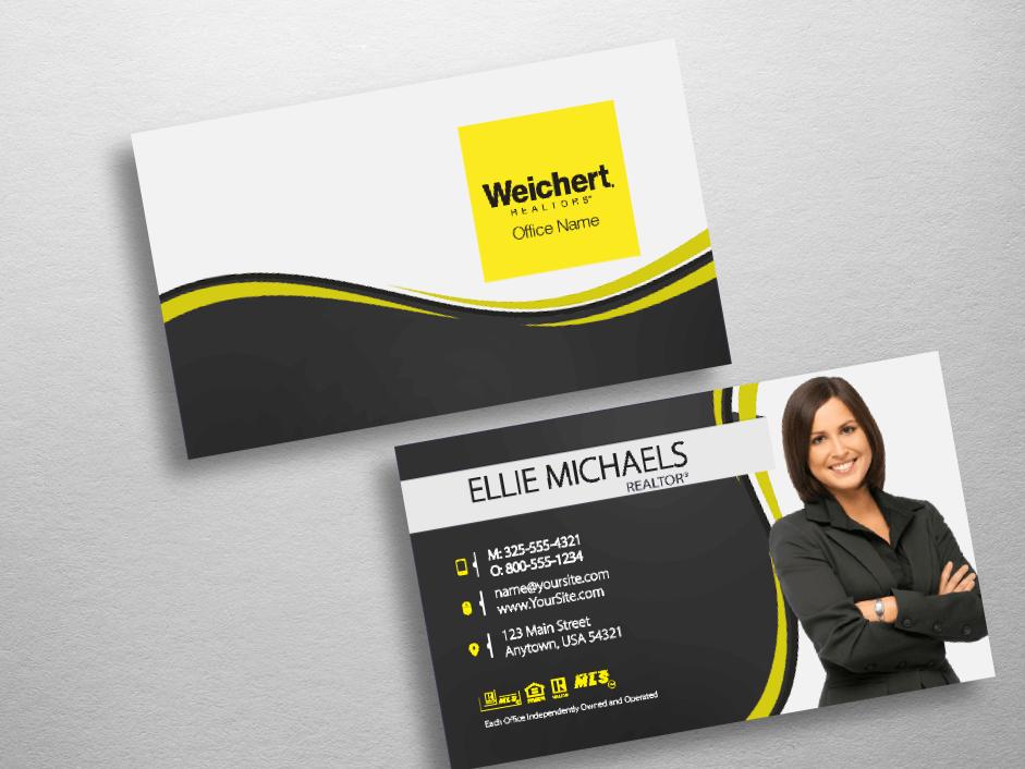 Weichert Business Cards   Free Shipping   Design Templates  
