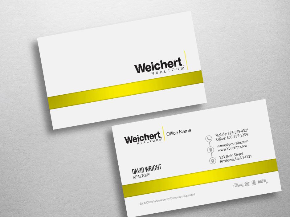 Weichert business cards free shipping design templates weichert realtors business card wch235 colourmoves