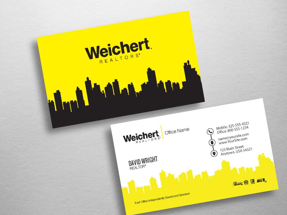 Weichert business cards free shipping design templates weichert realtors business card wch240 reheart Images