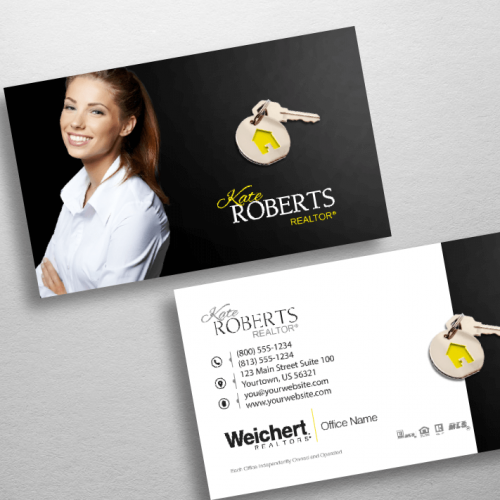Top 10 Weichert Realtors Business Card Designs