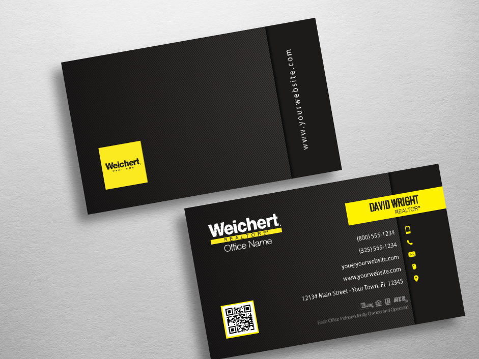 Weichert Business Cards : Free Shipping : Design Templates