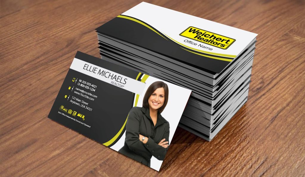 Custom and unique Weichert Realtors® cards elevate your brand |