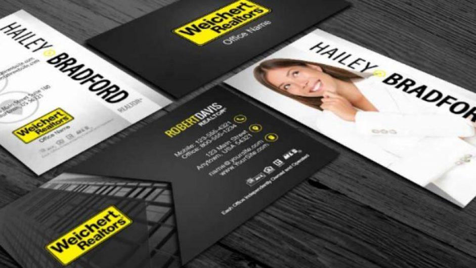 Top 10 Weichert Realtors Business Card Designs |